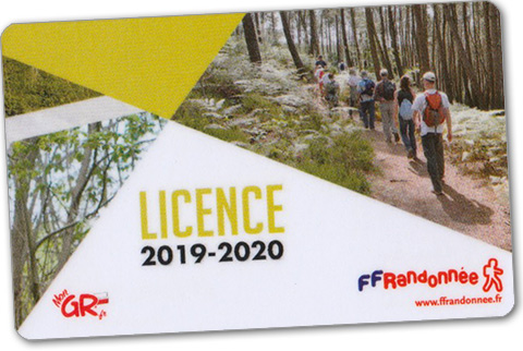 licence FFRP 2018-2019